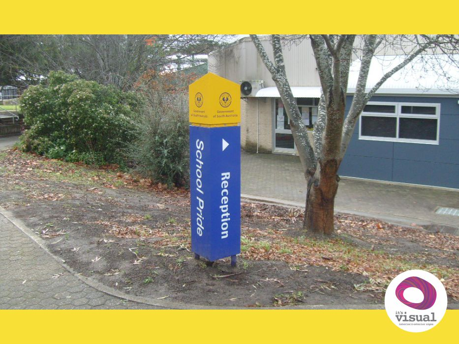 School Directional Signage