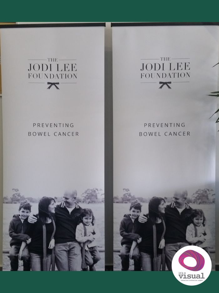 Charity Pull Up Banner